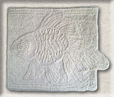 Click to see a larger image of this White-fish rug